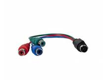 Cable adaptador super video 7 pin a componentes HDTV