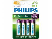 Pila recargable Philips AA 2300mah