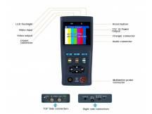 Tester para sistemas CCTV